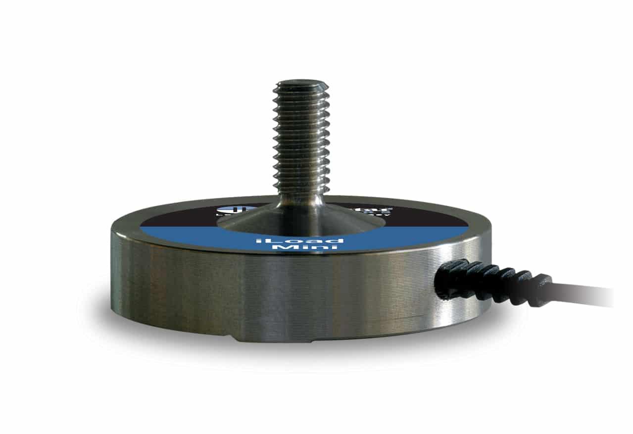 Kraftsensor iLoad Mini mit Gewindebolzen