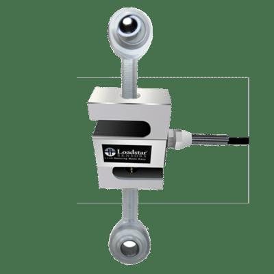 S-Beam Kraftaufnehmer RAS-1 mit Gelenkköpfen